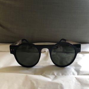 Spitfire black sunglasses. Never worn.